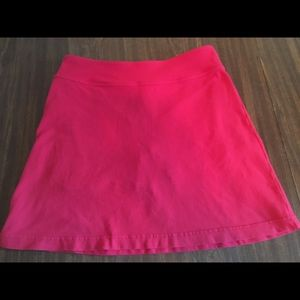 Athleta Red Tennis Skirt in Size Small.